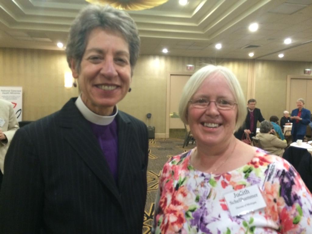 Bishop katharine and me