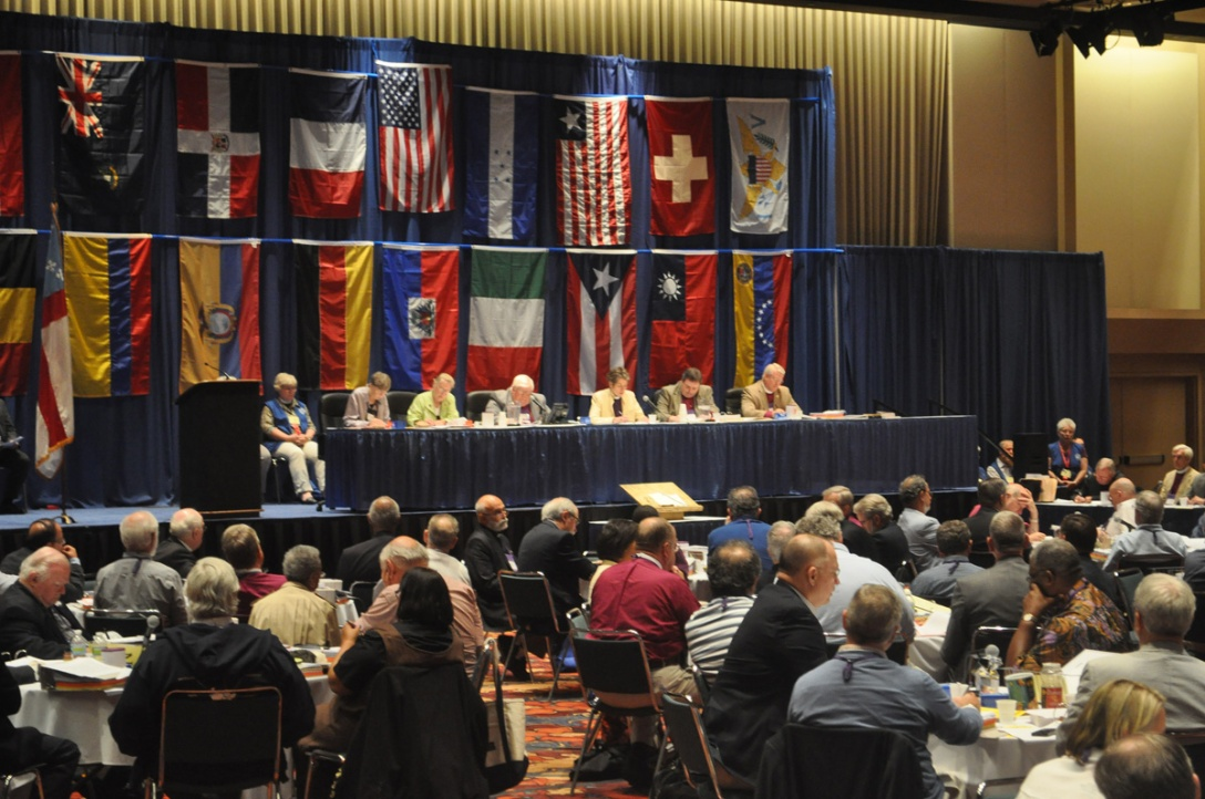 Scenes from the last General Convention, held in Indianapolis in 2012.