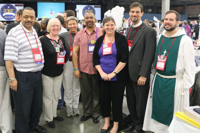 Meet the Michigan deputies, with Bishop Gibbs, at the 78th General Conventiuon.