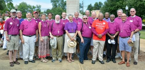 Bishops on pilgrimage for jonathan Daniels