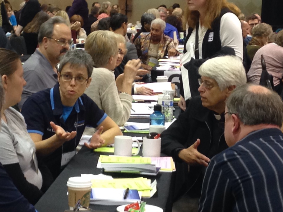 Conversation at our 181st Diocesan Convention in Novi.