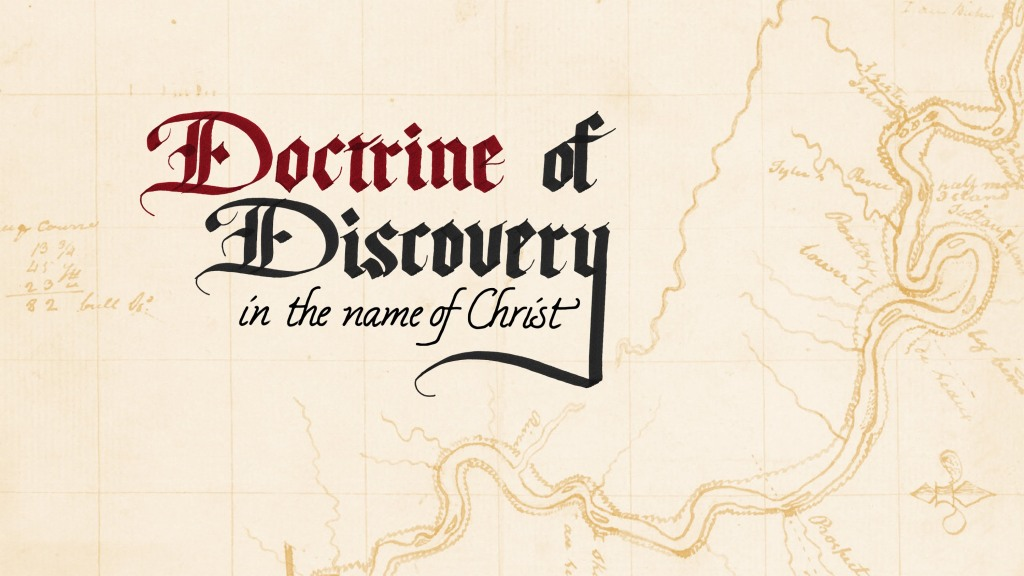 doctrine of discovery 1