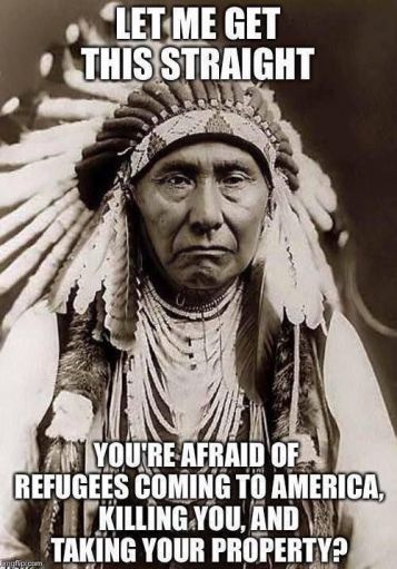 Native American and refugees
