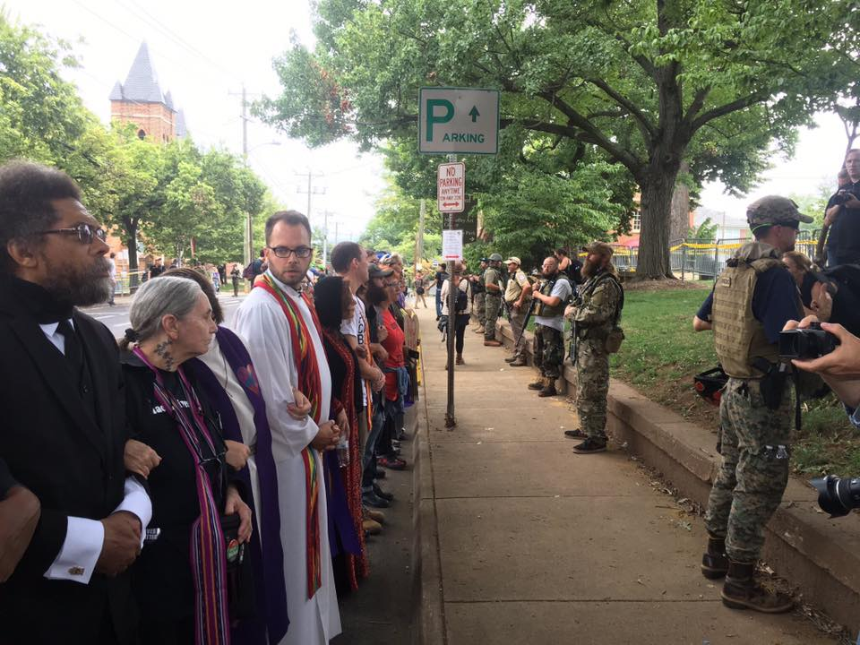 clergy in Charlottesville