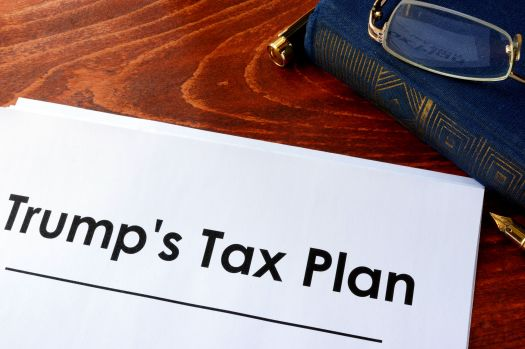 76757487 - document with title trump tax plan.