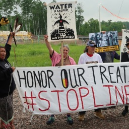 Pipelines Through Sacred Land