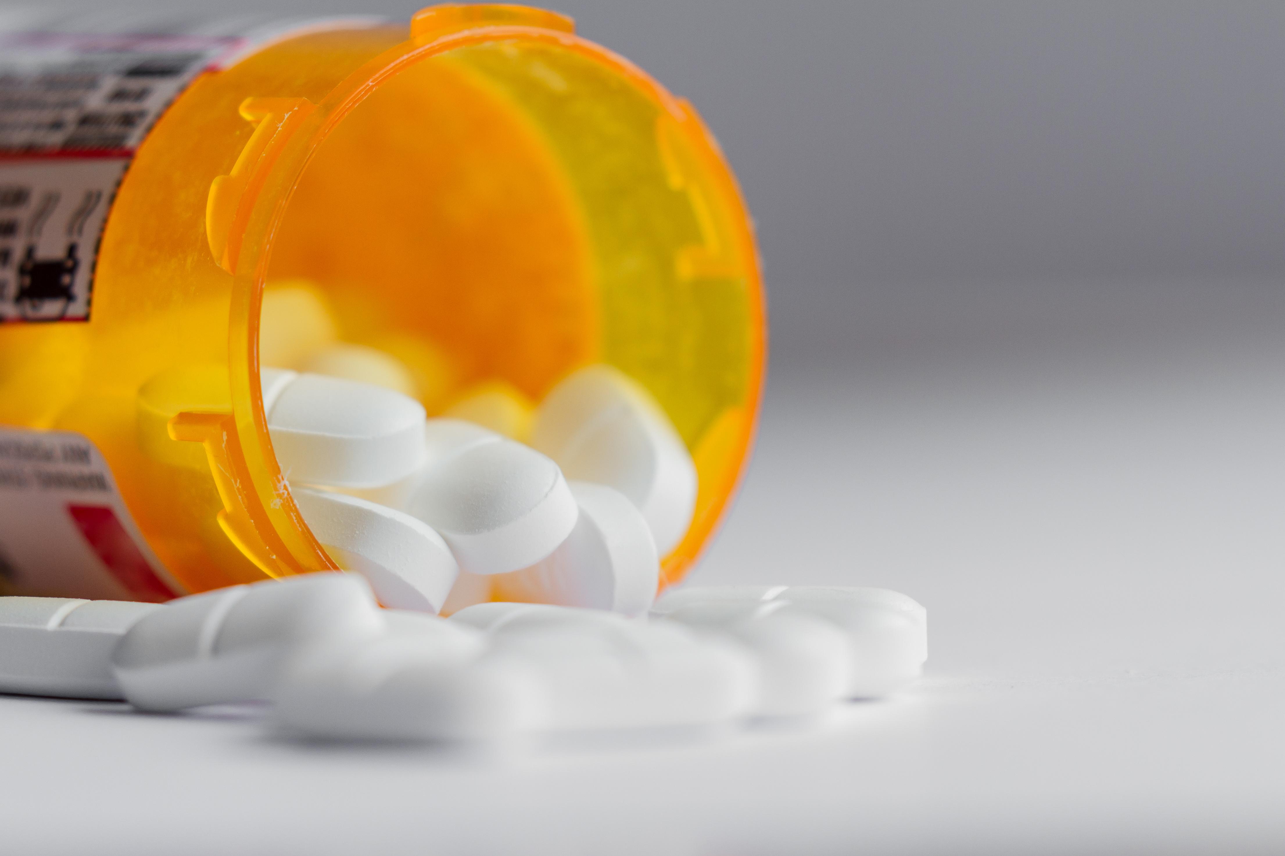 concept for prescription pills